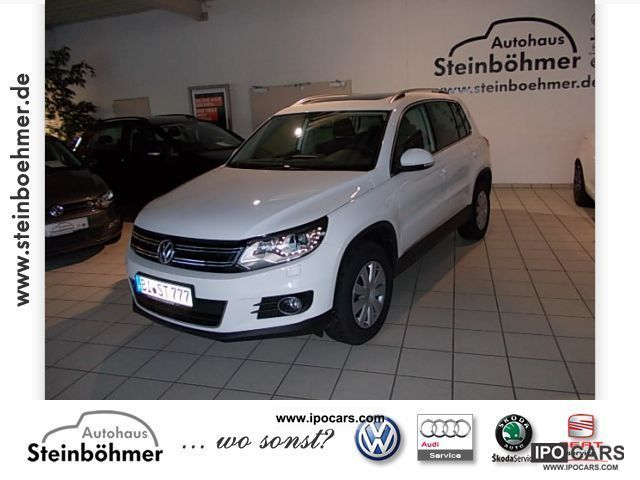 2012 Volkswagen  + Style Tiguan 4MOTION 2.0 l TDI 103 kW Off-road Vehicle/Pickup Truck Demonstration Vehicle photo