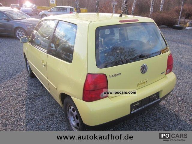 2003 Volkswagen Lupo 1.0 Princeton, top, summer u.Winterräder - Car Photo and Specs