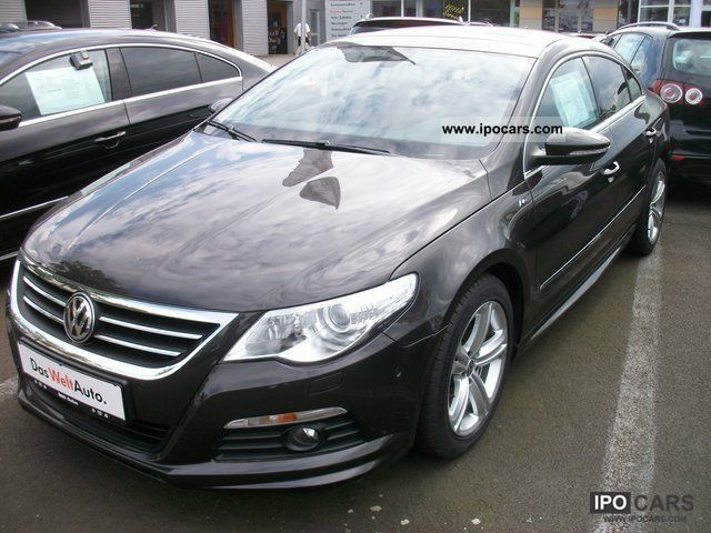 2010 Volkswagen  CC Passat BlueMotion 2.0 TDI DSG Technology R-Li Sports car/Coupe Used vehicle photo