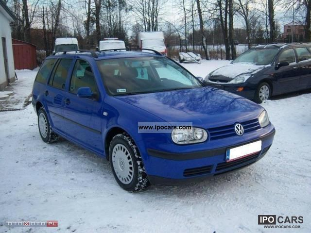 2002 Volkswagen  Golf 1.9 TDI Estate Car Used vehicle photo