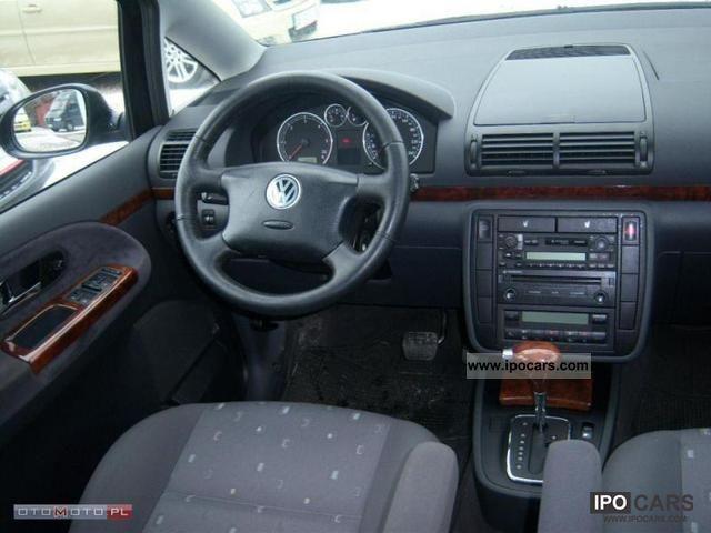 2005 Volkswagen Sharan 1 9 Tdi Car Photo And Specs