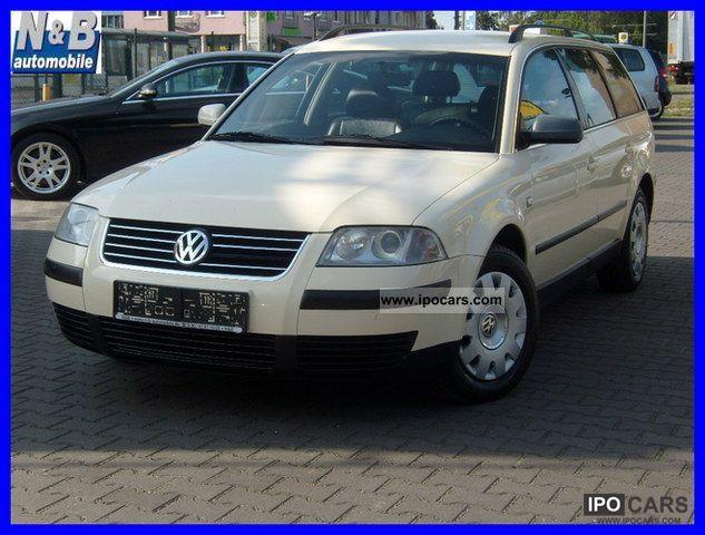 2001 Volkswagen  Passat 1.9TDI variant Aut. / Leather / Air / electric UAS Estate Car Used vehicle photo