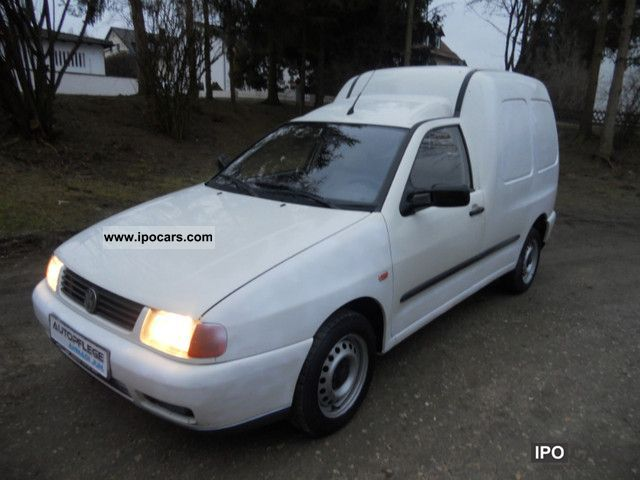 1998 Volkswagen  Caddy * 2 seater * - * AHK truck Zullassung Van / Minibus Used vehicle photo