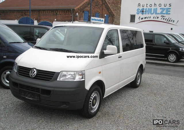 2006 Volkswagen  T5 Kombi Bus seats 9-AHK Air 1.9TDI DPF Van / Minibus Used vehicle photo