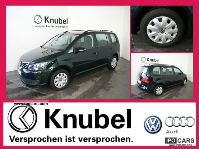 2011 Volkswagen  Touran Trendline 1.6 TDI DPF AIR Van / Minibus Used vehicle photo