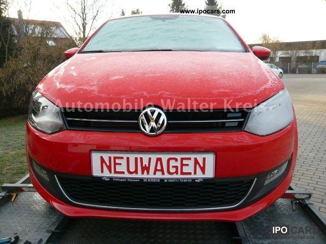 2011 Volkswagen  Polo 1.2 TSI Highline-26%-SHZ-GRA-PDC ESP immediately Small Car New vehicle photo