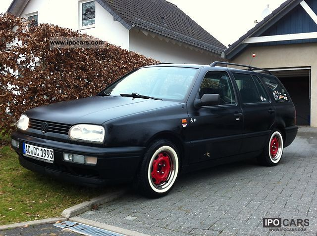 1994 volkswagen golf variant 1 8 cl car photo and specs. Black Bedroom Furniture Sets. Home Design Ideas