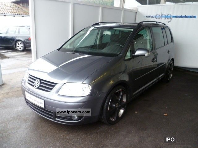 2004 Volkswagen  Touran 2.0 TDI Trendline AHK CD changer Tempoma Estate Car Used vehicle photo
