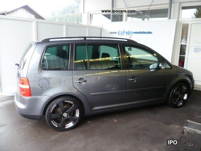 2004 volkswagen touran 2 0 tdi trendline ahk cd changer tempoma car photo and specs. Black Bedroom Furniture Sets. Home Design Ideas