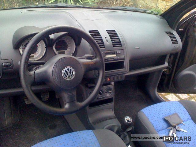 2000 volkswagen lupo 1 0 in black with little km car. Black Bedroom Furniture Sets. Home Design Ideas