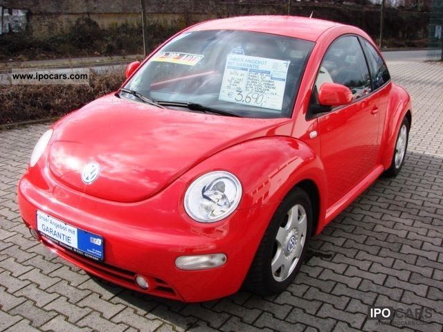 1999 Volkswagen  Beetle 2.0 WARRANTY / AIR / TUV NEU/D4/EXTRAS/TOP Limousine Used vehicle photo