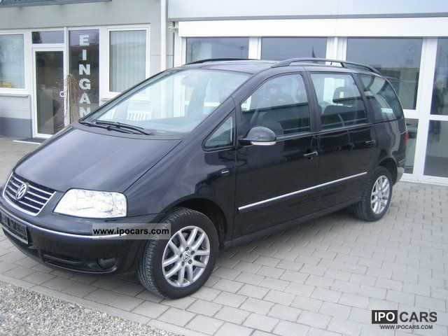 2006 Volkswagen Sharan Navi Wheel Leather Etc Essd