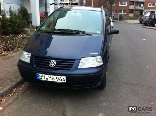 2001 Volkswagen  Sharan 1.9 TDI Comfortline Family Grune plakett Van / Minibus Used vehicle photo