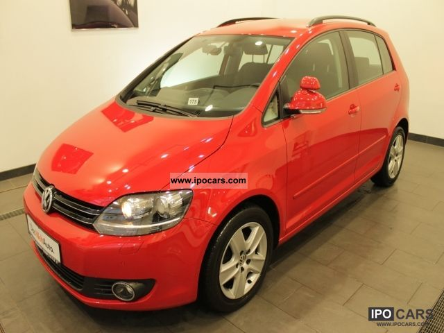 2010 Volkswagen  Golf Plus Comfortline 1.6 TDI DPF driving school cars Van / Minibus Used vehicle photo
