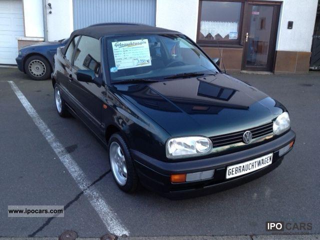 1997 Volkswagen Golf Cabriolet 1 8 Sport Edition With Air