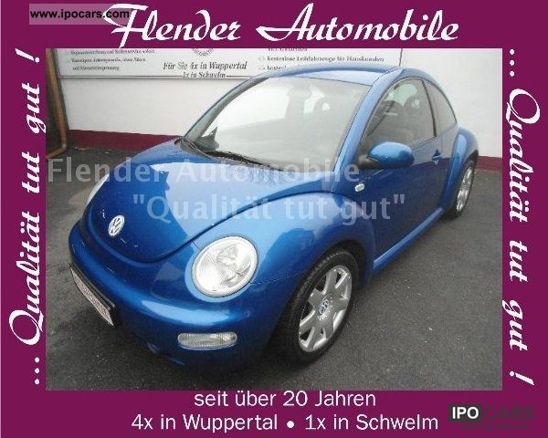 2002 Volkswagen  New Beetle 2.0 in vogue NAVI! Full service! Limousine Used vehicle photo