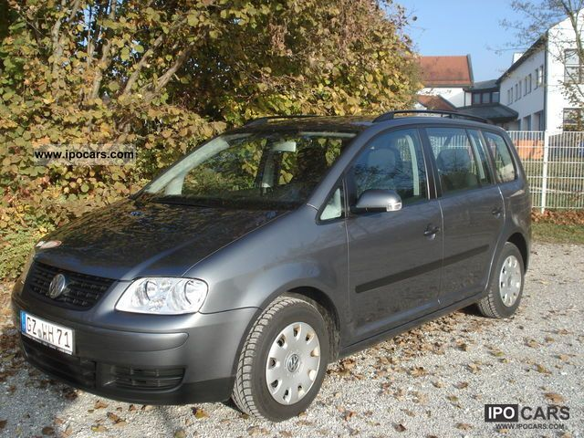 2003 Volkswagen Touran 19 Tdi Car Photo And Specs