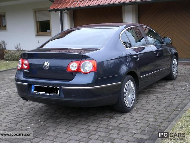2006 volkswagen passat 1 9 tdi comfortline car photo and specs. Black Bedroom Furniture Sets. Home Design Ideas