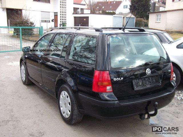 2000 volkswagen golf variant 1 9 tdi edition euro3 ahk air. Black Bedroom Furniture Sets. Home Design Ideas