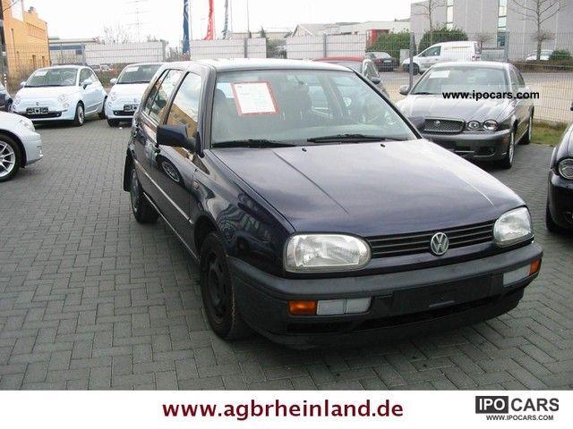 1997 Volkswagen  GOLF 3 1.8 5 DOOR * JOKER * AIR * Servo * CHECKBOOK Limousine Used vehicle photo