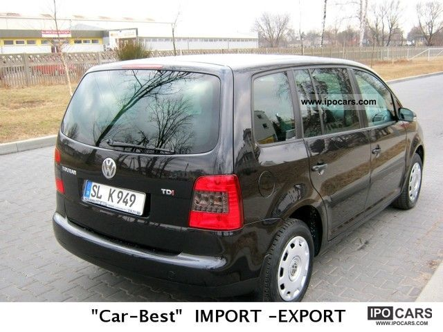 2004 volkswagen 1 9tdi idealny stan serwis touran car photo and specs. Black Bedroom Furniture Sets. Home Design Ideas