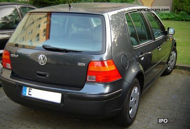 1999 volkswagen golf 1 9 sdi car photo and specs. Black Bedroom Furniture Sets. Home Design Ideas