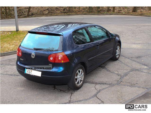 2005 Volkswagen Golf 1 4 Fsi Comfortline Car Photo And Specs