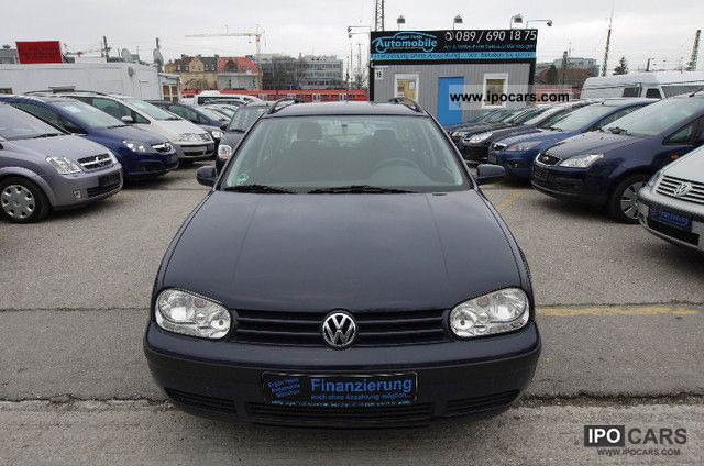 2001 Volkswagen  Golf Variant 2.0 Special * climate control * Estate Car Used vehicle photo