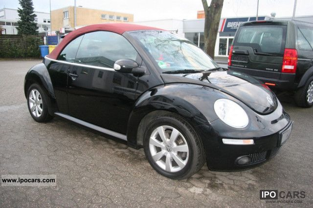2006 volkswagen new beetle cabriolet 1 9 tdi 1 hand car photo and specs. Black Bedroom Furniture Sets. Home Design Ideas