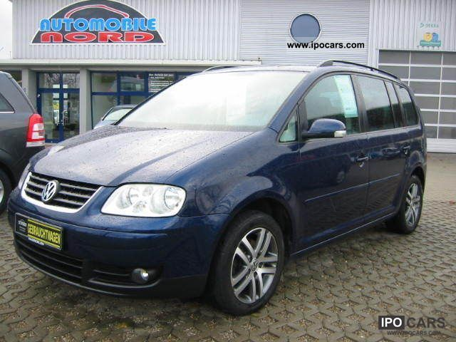 2004 volkswagen touran 2 0 tdi trendline 7 seater diesel car photo and specs. Black Bedroom Furniture Sets. Home Design Ideas