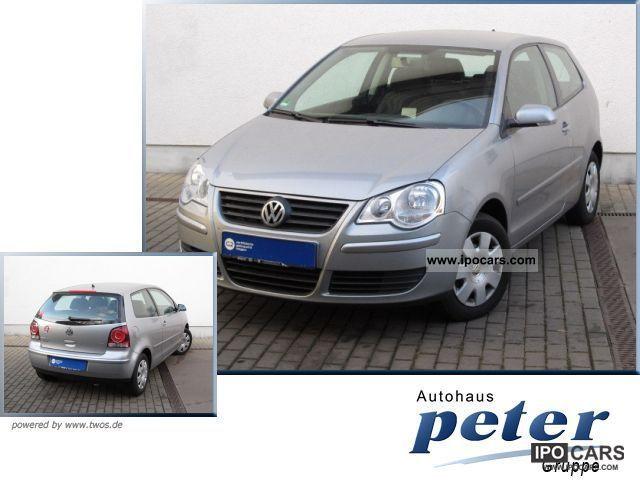 2009 Volkswagen  Polo 1.4 Trendline comfort package Elektrik/1.Hand Small Car Used vehicle photo