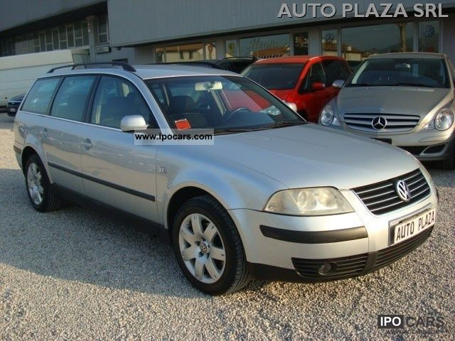 2001 volkswagen passat 1 9 tdi 130 cv cat var car photo and specs. Black Bedroom Furniture Sets. Home Design Ideas