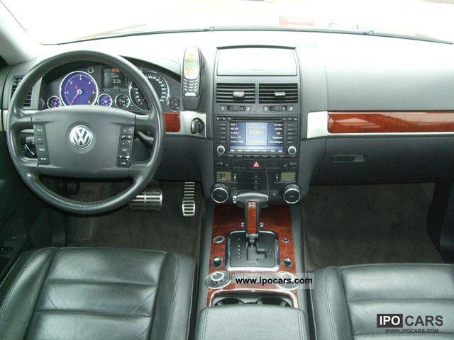2003 Volkswagen Touareg 50 V10 Tdi Aut Leather Navi Air Suspension