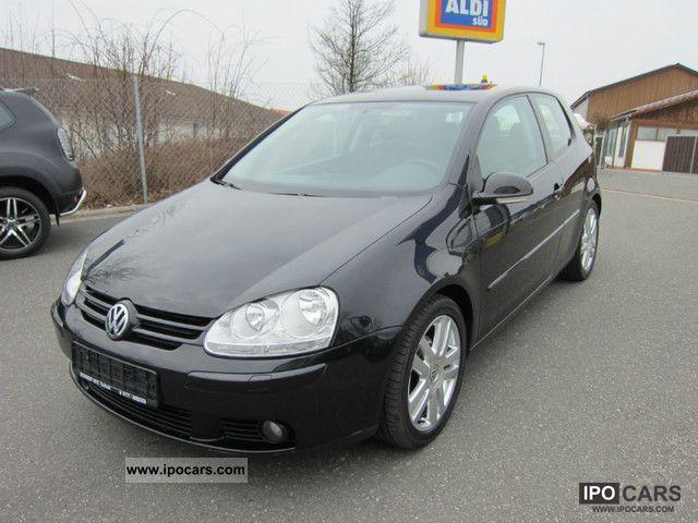 2004 Volkswagen  Golf 1.6 FSI Sportline from 1.Rentner-hand Limousine Used vehicle photo