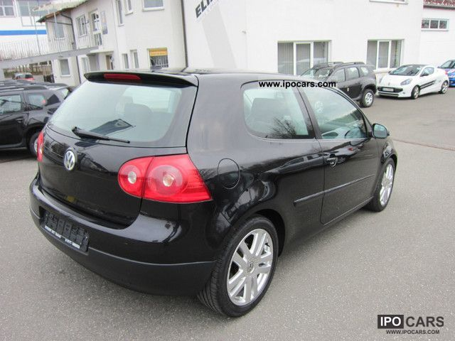 2004 volkswagen golf 1 6 fsi sportline from 1 rentner hand car photo and specs. Black Bedroom Furniture Sets. Home Design Ideas