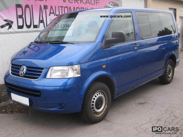 2007 Volkswagen  Caravelle DPF KLIMAA ° ° ° PDC AHK 6GANG ° ° (5.Si.) DPF Van / Minibus Used vehicle photo