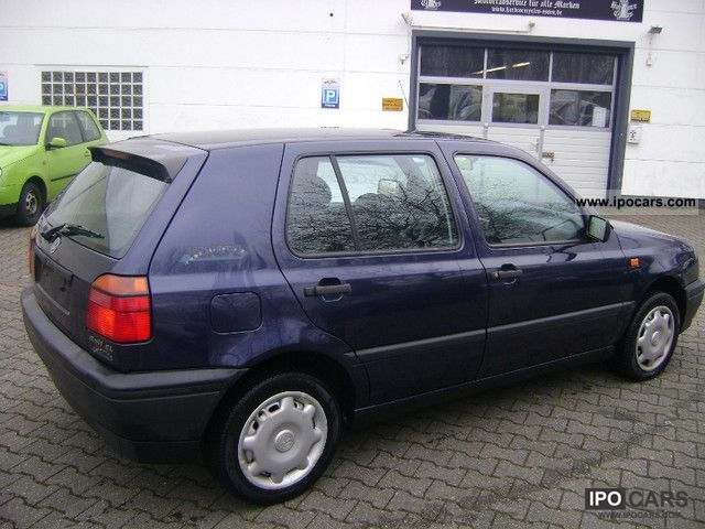 1994 volkswagen gl golf 1 6 central europe power airbags car photo and specs. Black Bedroom Furniture Sets. Home Design Ideas