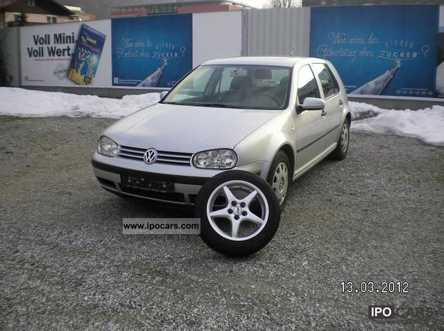 2001 Volkswagen  Golf 1.4 EURO4 Limousine Used vehicle photo