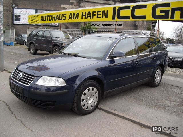 2004 Volkswagen  PASSAT VARIANT 1.9 TDI 5 SPEED SERVO AIR XENON Estate Car Used vehicle photo