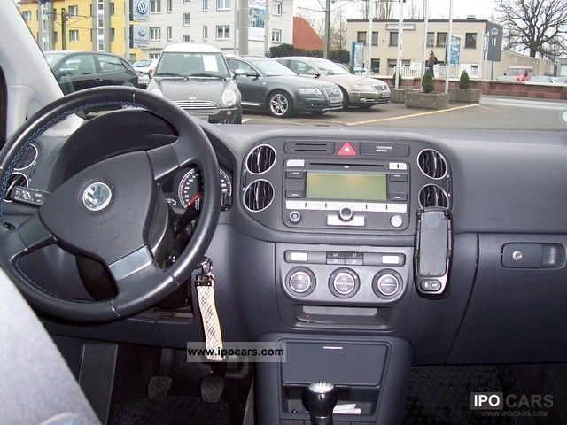2007 Volkswagen Golf Plus 1 9 Tdi Dpf Tour Car Photo And