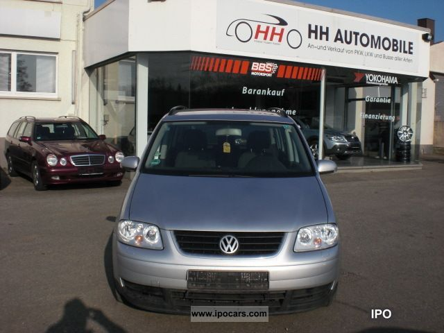 2005 Volkswagen  Touran 2.0 TDI DSG 1.HAND-NAVI-KLIMAAUTOMATIK Van / Minibus Used vehicle photo