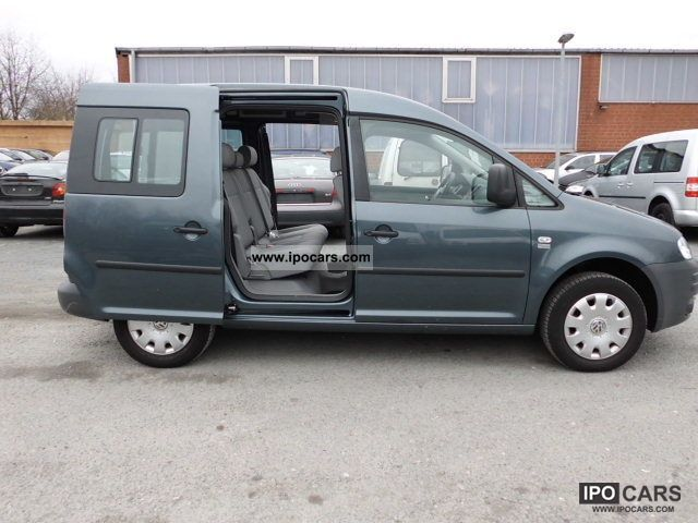 2006 Volkswagen  Caddy 1.6-liter gasoline 75kW 7-Seater Estate Car Used vehicle photo