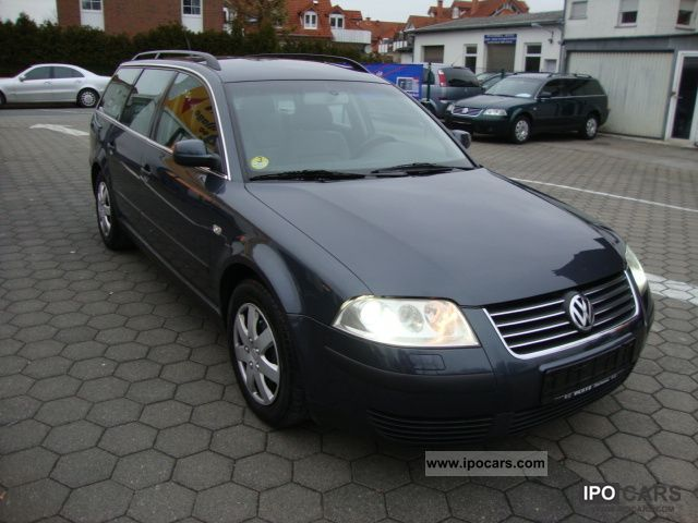 2001 volkswagen passat variant 1 9 tdi trendline xenon 1 hd g 6 car photo and specs. Black Bedroom Furniture Sets. Home Design Ideas
