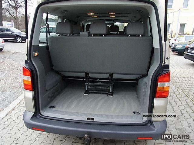 2003 volkswagen transporter t5 9 seater car photo and specs. Black Bedroom Furniture Sets. Home Design Ideas