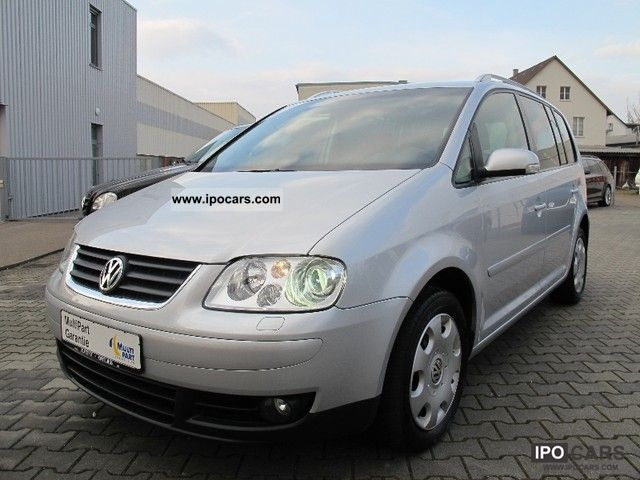 2005 volkswagen touran 2 0 tdi highline dsg leather navigation xenon car photo and specs. Black Bedroom Furniture Sets. Home Design Ideas