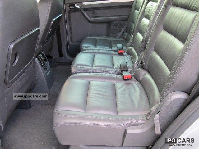 volkswagen touran  tdi highline dsg leather navigation xenon car photo  specs