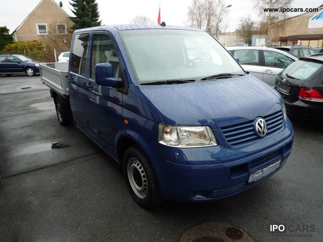 2006 Volkswagen  T5 1.9 TDI DPF trucks DOKA AIR / APC / HEATER Other Used vehicle photo