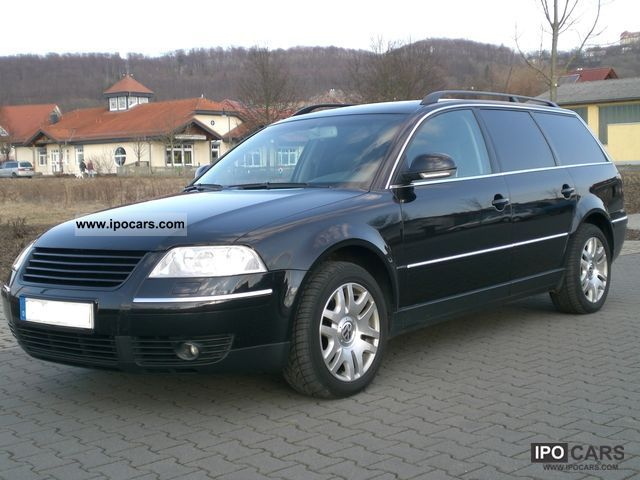 2003 volkswagen passat 2 5 tdi highline v6 4motion car photo and specs. Black Bedroom Furniture Sets. Home Design Ideas