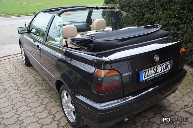 1996 volkswagen golf cabrio 1 6 classic edition car photo and specs. Black Bedroom Furniture Sets. Home Design Ideas