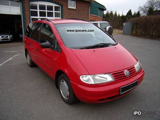 1999 Volkswagen  Sharan 2.0 Comfortline 6 seats Van / Minibus Used vehicle photo